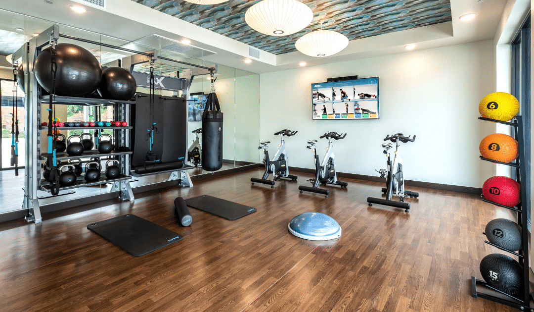 Delivering on Engaging Fitness Amenity Design