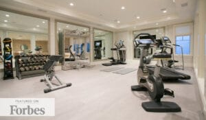 Forbes Home Gym Design with Fitness Design Group and Bryan Green