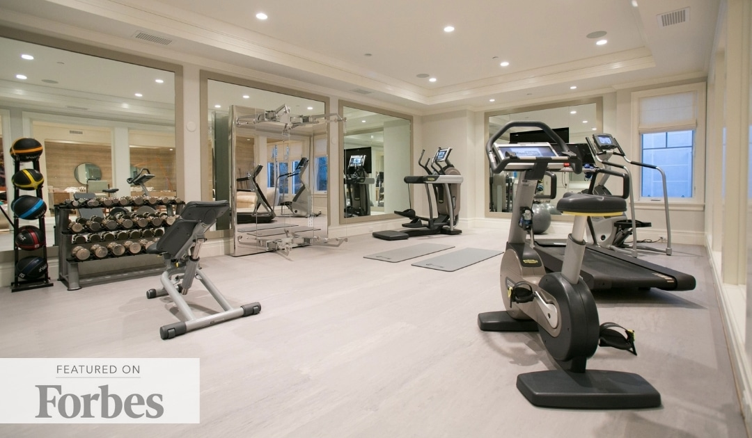 Sumptuous Home Gyms Are The Latest Design Luxury Amid Covid-19