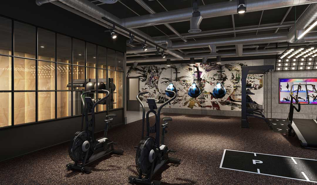 Accor and fitness design group partner together for fitness design in hospitality gym spaces