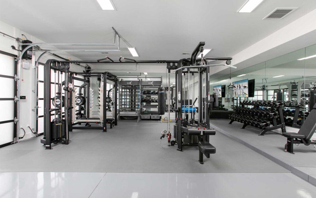 Luxury Garage Gym