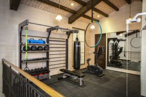Gym Rax suspension for home gym design