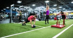 golds gym golds fit functional group training socal group