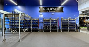 Golds Fit Functional Training studio at golds gym oxnard ca gym design by aktiv solutions