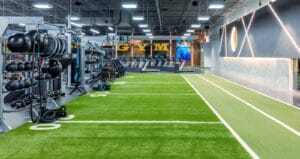 Golds gym turf and gym rax functional training area gym design by aktiv solutions