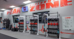 mountainside fitness personal training and group fitness using gym rax