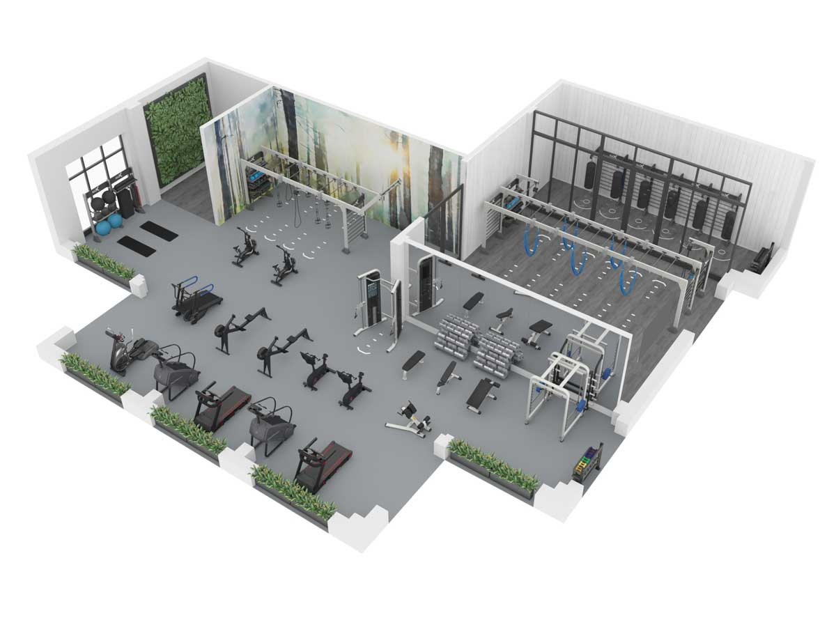 Gym Design by Fitness Design Group