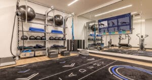Aktiv Academy with Gym Rax and Aktiv TV gym equipment for Greystar fitness center
